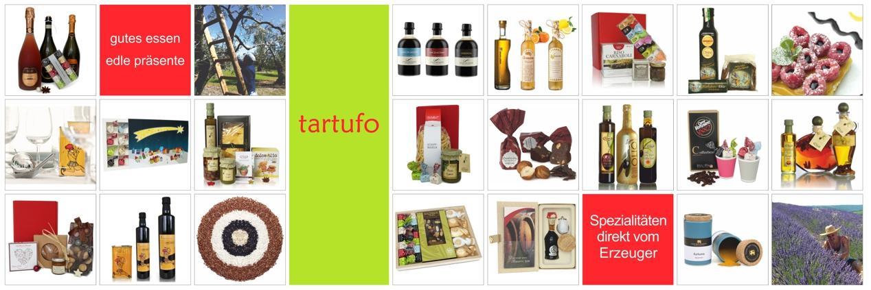 tartufo - gutes essen und edle präsente